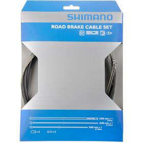 Shimano remkabelset, grey/black
